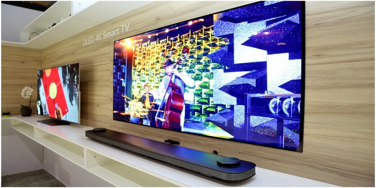 television exemples images produits